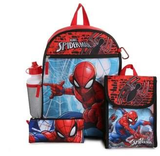 Spiderman Fast Forward 5-Piece Backpack Set