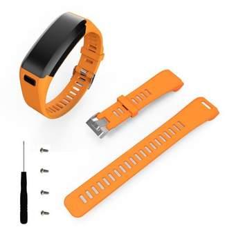 Garmin Unbranded Fashion Sports Silicone Band Strap + Tool For Vivosmart HR OR