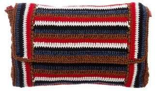 Rachel Comey Knit Flap Clutch
