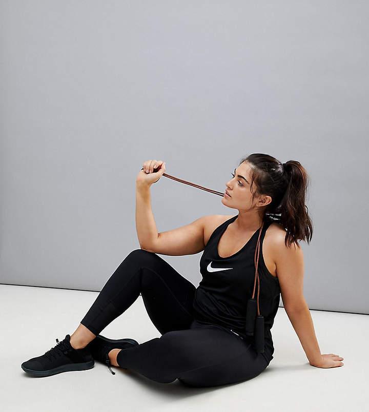 Nike Training Nike Plus – Power Racer – Leggings in Schwarz