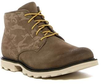 Sorel Madson Waterproof Suede Camo Chukka Boot