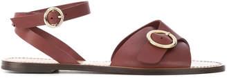 Tila March crossover strap Sedano sandals