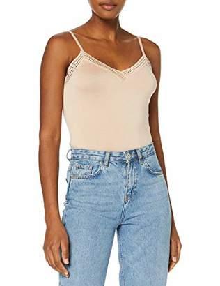 Morgan Women's 192-barba.n T-Shirt, Beige Nude, (Size: TL)