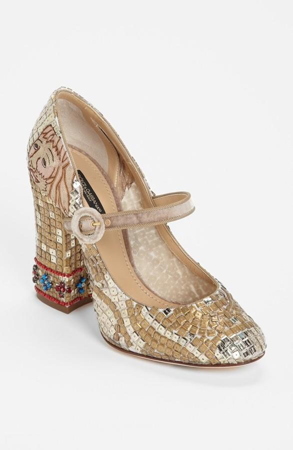 Dolce & Gabbana 'Baroque' Pump