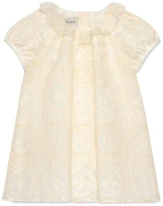 Baby broderie anglaise dress $720 thestylecure.com
