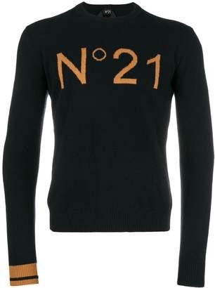 N°21 Cotton Crew Neck Sweater