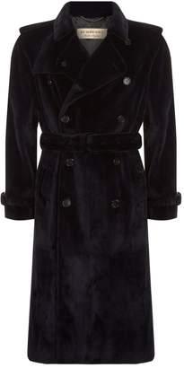 Burberry Mink Fur Trench Coat
