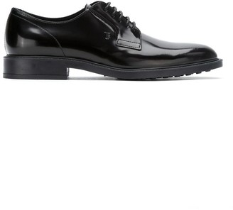 Tod's shiny lace-up derbies