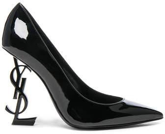 Saint Laurent Patent Leather Opium Monogramme Heels