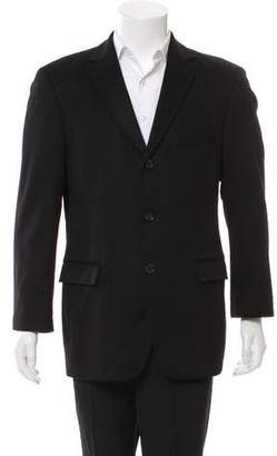 HUGO BOSS Cashmere Button-Up Coat
