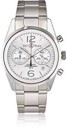 Bell & Ross Men's BR 126 Officer Silver Watch