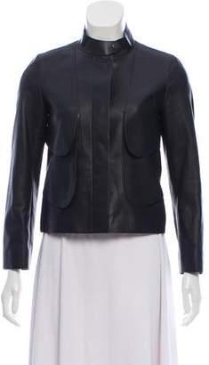 Hermes 2015 Leather Layered Jacket