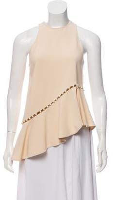 Jonathan Simkhai Embellished Sleeveless Blouse
