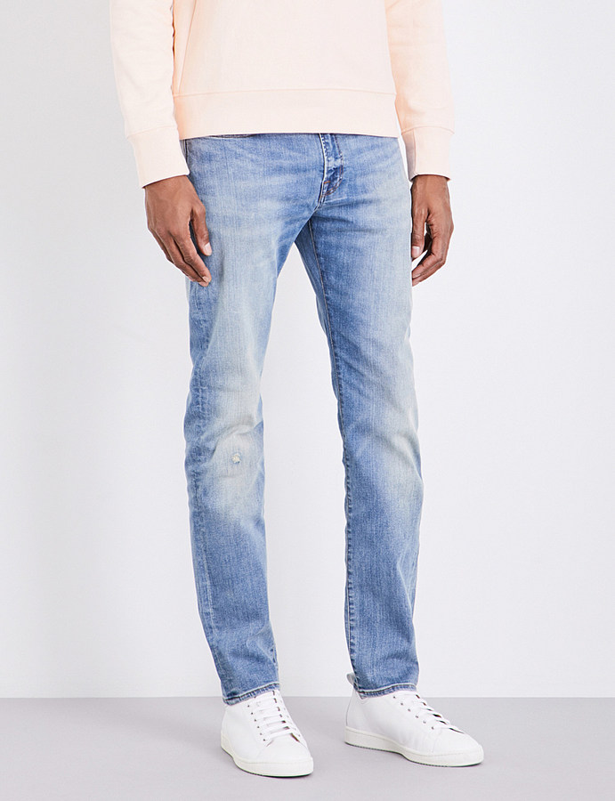 Paul SmithPs By Paul Smith Slim-fit tapered jeans