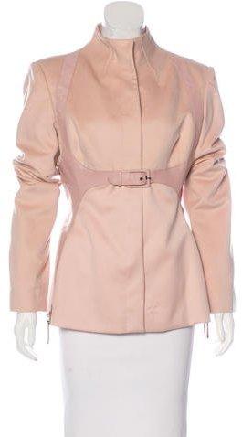 Alexander McQueenAlexander McQueen Cashmere & Wool Coat