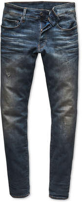 G Star Men's Super-Slim Fit Stretch Deconstructed Jeans