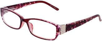 Alfred Sung Readers 50MM Rectangular Reading Glasses