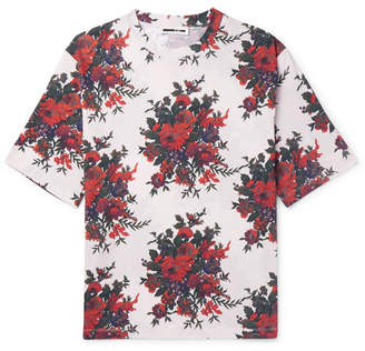 McQ Oversized Printed Cotton-Jersey T-Shirt