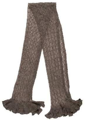 Emporio Armani Woven Knit Scarf Woven Knit Scarf