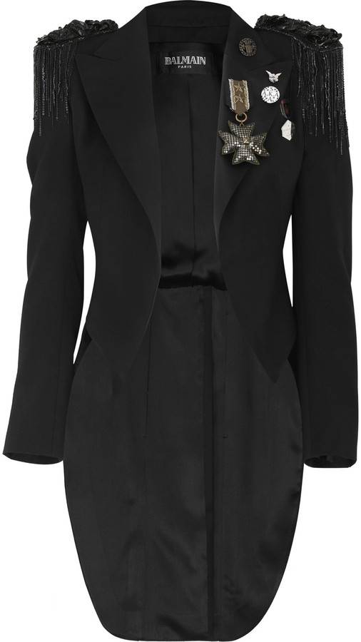 Balmain Military wool jacket