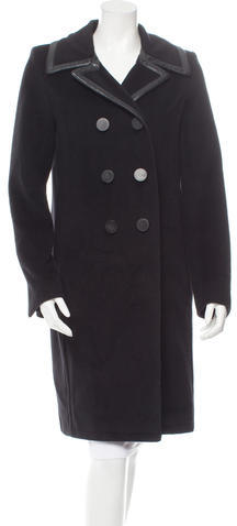 Balenciaga  Balenciaga Knee-Length Wool Coat