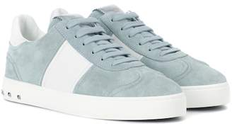 Valentino Fly Crew suede sneakers