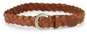 Fashion Focus Braided Leather Belt