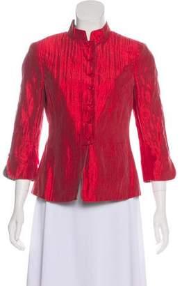 Armani Collezioni Lightweight Silk Jacket