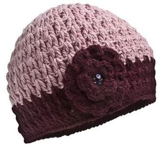 Nirvanna Designs Women's Crochet Flower Hat