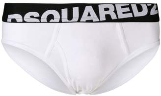 DSQUARED2 logo waistband briefs