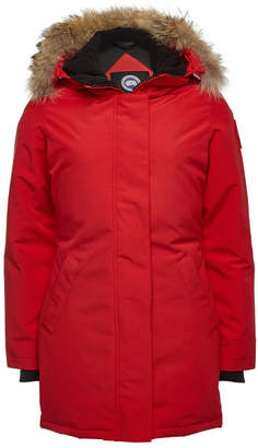 Canada Goose Victoria Down Parka with Fur-Trimmed Hood