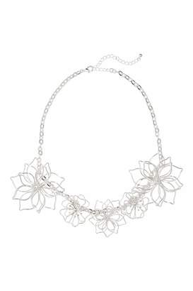 H&M Necklace - Silver-colored - Women