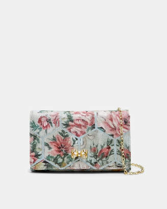 Ted Baker ALMERE Patchwork jacquard evening bag