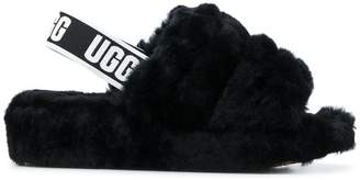 UGG logo band sandals