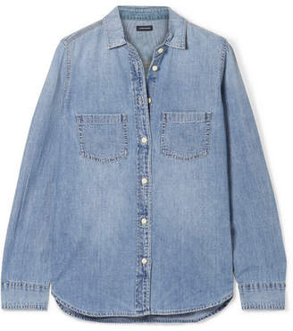 J.Crew Everyday Cotton-chambray Shirt - Blue
