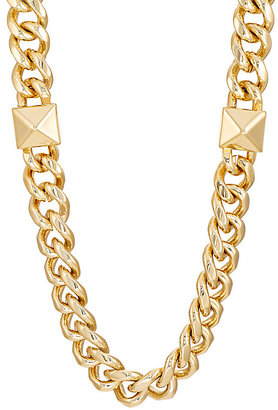 Fallon FALLON WOMEN'S CURB-CHAIN NECKLACE $300 thestylecure.com