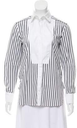 Belstaff Striped Button-Up Top