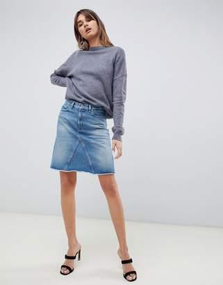 HUGO 90's Denim Mini Skirt