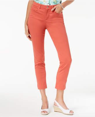 Charter Club Petite Bristol Skinny Ankle Jeans