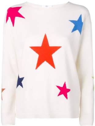 Allude スター インターシャセーター