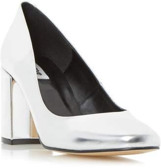 Dune LADIES ABELL - Block Heeled Round Toe Court Shoe