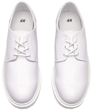 H&M Chunky-soled Derby Shoes - White