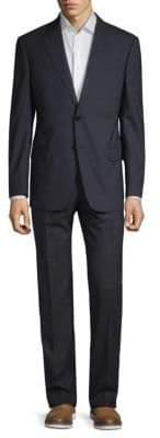 Giorgio Armani Collezioni Two-Piece Micro Tic Print Suit