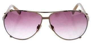 Christian Dior Gradient Aviators Sunglasses