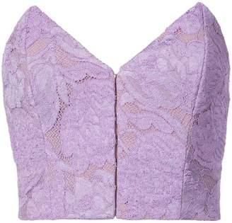 Fleur Du Mal strapless lace top