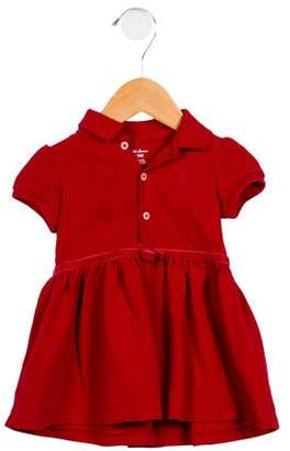 Ralph Lauren Girls' Polo Dress Set