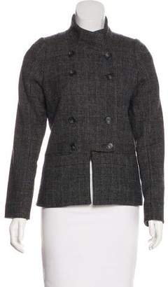Veronique Branquinho Wool Notch-Lapel Jacket