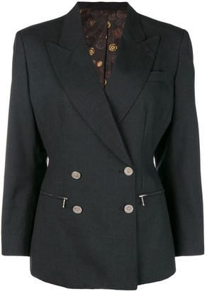 Jean Paul Gaultier Pre-Owned double breasted coin button blazer