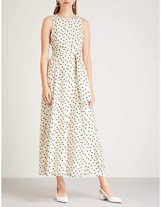 Diane von Furstenberg Polka dot-print silk midi dress