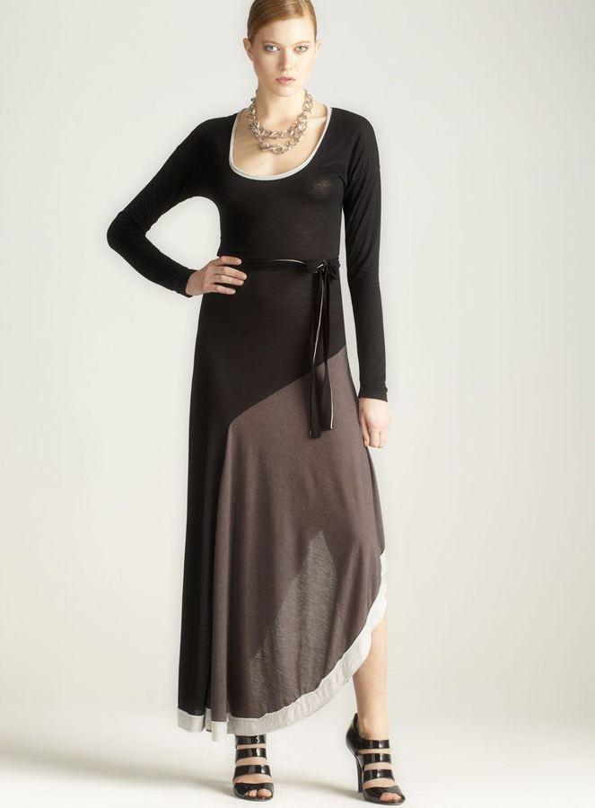 Anama Long Sleeve Maxi Dress